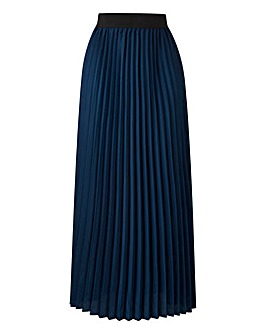 Sunray Pleat Maxi Skirt