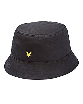 Lyle & Scott Black Bucket Hat