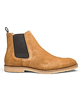 Dune Cowes Chelsea Boots Suede