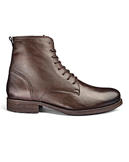 Leather Military Boots Standard Fit