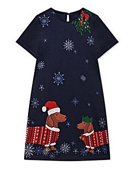 Yumi Girl Sausage Christmas Tunic