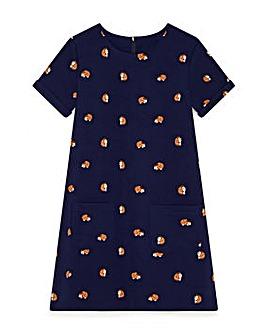 Yumi Girl Hedgehog Print Tunic
