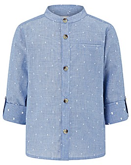 Monsoon Stuart Stripe Grandad Shirt