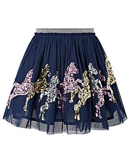 Monsoon Disco Jessie Horse Skirt