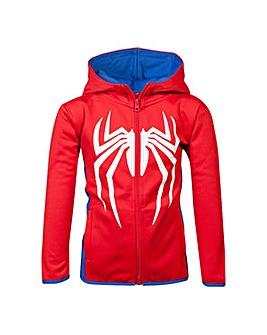 Spiderman Logo Teq Kids Hoodie
