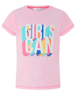 Accessorize Girls Can T Shirt