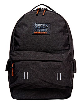 Superdry Black Montana Backpack