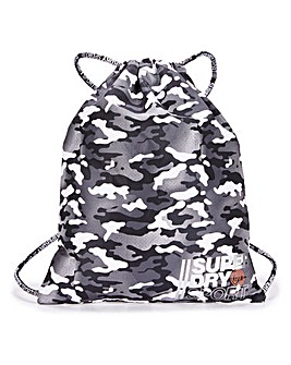 Superdry Camo Sport Drawstring Bag
