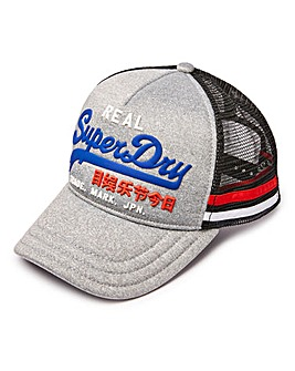 Superdry Grey Trucker Cap