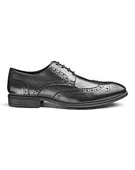 Soleform Formal Leather Brogues Extra Wide