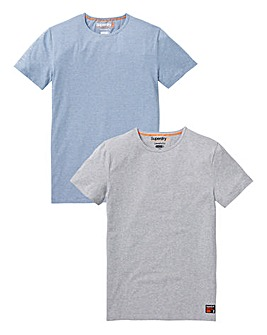 Superdry Pack of 2 Lounge T-shirts