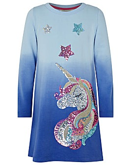 Monsoon Callie Unicorn Sweat Dress