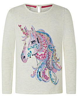 Monsoon S.E.W Unicorn Top