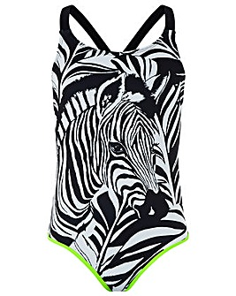 Monsoon Storm S.E.W Zara Zebra Swimsuit