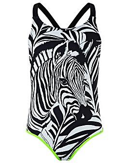 Monsoon Storm S.E.W Zara Zebra Swimsuit