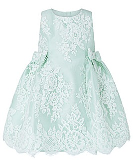Monsoon Baby Mint Valeria Lace Dress