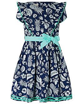 Monsoon S.E.W Naomi Fruit Print Dress