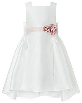 Monsoon Cynthia High Low Ivory Dress