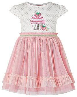 Monsoon Baby Nessie Strawberry Dress