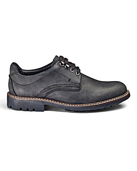 Leather Hybrid Derby Shoes Standard Fit