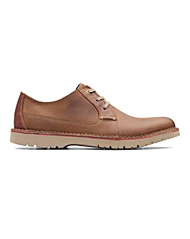 Clarks Vargo Plain Shoe Std Fit