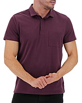 Mulberry Stretch Jersey Polo