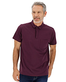 Mulberry Stretch Jersey Polo Regular