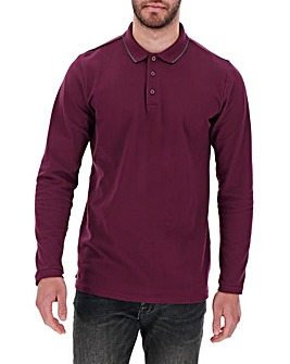 Mulberry L/S Stretch Tipped Polo Long