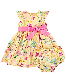 Monsoon Newborn Baby Florence Dress