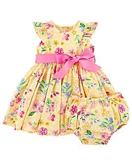 Monsoon Newborn Baby Florence Dress