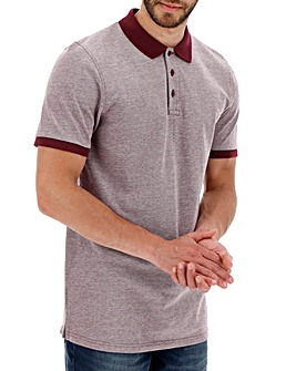 Mulberry Birds Eye Polo Long