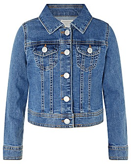 Monsoon Elouise Unicorn Denim Jacket