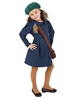 WW2 Evacuee Girl - Childs Costume