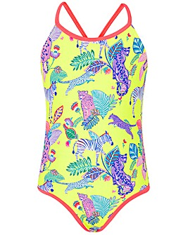 Accessorize Wild Jungle Print Swimsuit