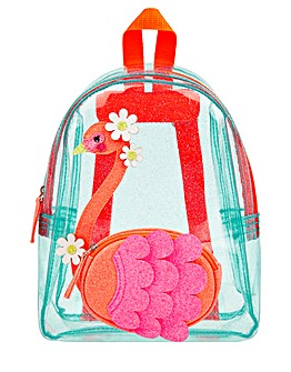 Accessorize Flora Flamingo Backpack