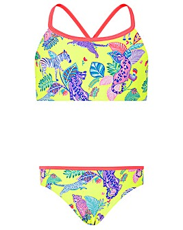 Accessorize Wild Jungle Print Bikini