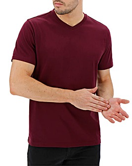 Mulberry V-Neck T-shirt