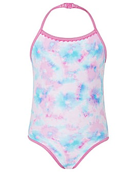 Accessorize Tie Dye Printed Swimsuit