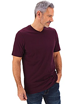 Mulberry V-Neck T-shirt Long