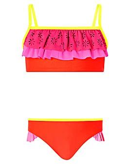 Accessorize Colourblock Layered Bikini