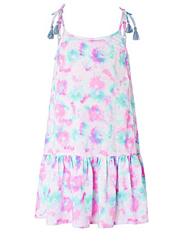 Accessorize Tie Dye Printed Dress
