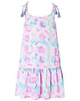 Accessorize Tie Dye Printed Dress