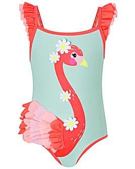 Accessorize Flora Flamingo Swimsuit