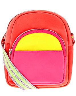 Accessorize Neon Utility Across Body Bag