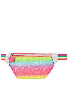 Accessorize Rainbow Glitter Belt Bag
