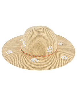 Accessorize Daisy Sparkle Floppy Hat