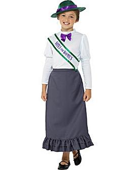 Victorian Suffragette Costume