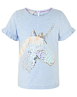 Monsoon Kelsey Unicorn Tee