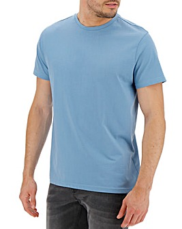 Mid Blue Crew Neck T-shirt