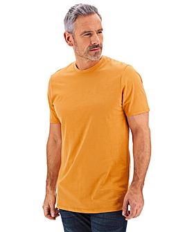 Ochre Crew Neck T-shirt Long